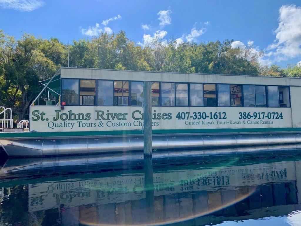 St. John's River Cruise pontoon boat