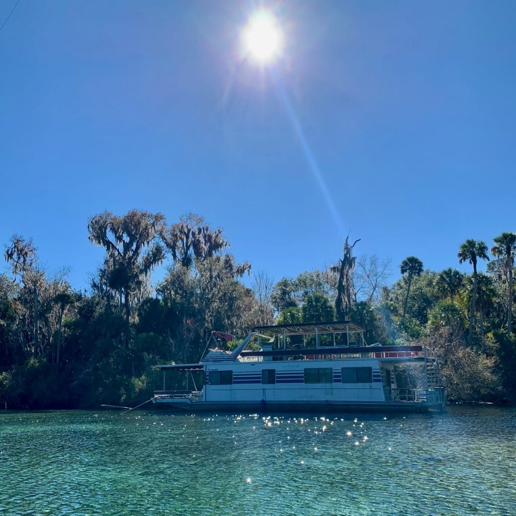 Silver Glen Springs in the Ocala National Forest, Florida.